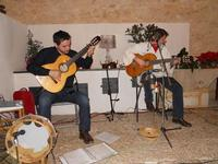 Concerto NAPOLINCANTO - Domenico De Luca (chitarra solista e percussione), Gianni Aversano (voce e chitarra) - 10 dicembre 2009  - Alcamo (1645 clic)