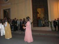 2° Corteo Storico di Santa Rita - Dinanzi la Chiesa S. Antonio - seconda uscita - Rita bambina - Rita giovinetta - 17 maggio 2008   - Castellammare del golfo (569 clic)