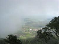 panorama con foschia dal monte Erice - 1 maggio 2009   - Erice (1887 clic)