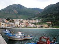 al porto: panorama - 20 aprile 2007  - Castellammare del golfo (814 clic)