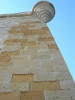 Torre di Ligny: particolare - 6 settembre 2007  - Trapani (794 clic)