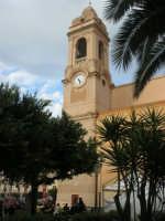 campanile con orologio della Chiesa Madre Maria SS. delle Grazie - 23 marzo 2008    - Terrasini (1384 clic)