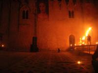 Festeggiamenti Maria SS. dei Miracoli - La Festa del Paradiso - L'Assalto al Castello - Piazza Castello - 20 giugno 2008  - Alcamo (525 clic)