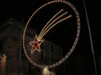 illuminazione natalizia in piazza Ciullo - 17 dicembre 2008  - Alcamo (1103 clic)