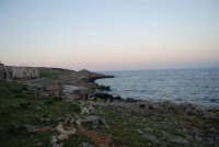 la costa ed il mare alla tonnara - 24 febbraio 2008  - San vito lo capo (538 clic)