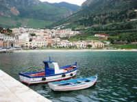 al porto: panorama - 20 aprile 2007  - Castellammare del golfo (789 clic)