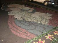 Le Mense di San Giuseppe: l'infiorata in piazza - 19 marzo 2006  - Borgetto (2804 clic)