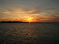 tramonto sul Lungomare Dante Alighieri - 18 settembre 2008   - Trapani (753 clic)