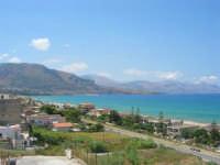 panorama del Golfo di Castellammare, lato ovest - 4 agosto 2007  - Alcamo marina (854 clic)