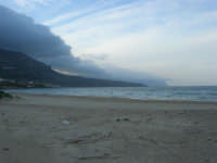 Spiaggia Plaja - il mare d'inverno - 11 gennaio 2009   - Castellammare del golfo (1591 clic)