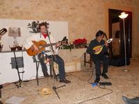 Concerto NAPOLINCANTO - Gianni Aversano (voce e chitarra), Ferdinando Piscopo (mandolino) - 10 dicembre 2009   - Alcamo (1665 clic)