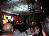 Cous Cous Fest 2007 - In Piazza Santuario, cerimonia di premiazione miglior cous cous 2007, presenta Sasà Salvaggio - 28 settembre 2007   - San vito lo capo (925 clic)