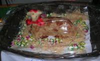 Istituto Comprensivo Pascoli - Rispettando la tradizione pasquale, ecco un agnello realizzato con la pasta di mandorle - 14 marzo 2008   - Castellammare del golfo (951 clic)