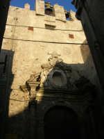 facciata della Chiesa di San Pietro - sec. XIV - XVIII - 6 luglio 2007  - Erice (988 clic)