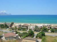 panorama del Golfo di Castellammare, lato nord-ovest - 4 agosto 2007  - Alcamo marina (1124 clic)