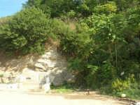 fontana immersa nella vegetazione in contrada Angéli - 4 ottobre 2007  - Calatafimi segesta (1251 clic)