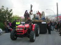 Processione della Via Crucis con gruppi statuari viventi - 5 aprile 2009   - Buseto palizzolo (1730 clic)
