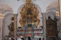 l'organo all'interno della Chiesa Madre o di San Nicola di Bari - 15 marzo 2009   - Salemi (2913 clic)