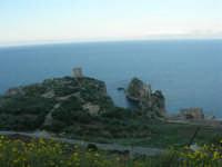 torri di avvistamento, faraglioni e tonnara - 8 maggio 2007  - Scopello (917 clic)