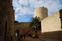 Castello arabo normanno - atrio interno - 6 gennaio 2009   - Salemi (2858 clic)