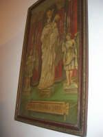 Cene di San Giuseppe - Grispi artigianato - quadro con immagine di Maria Santissima di Trapani - 15 marzo 2009   - Salemi (3189 clic)