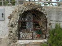 Edicola votiva, dedicata a Maria SS. del Soccorso - 23 agosto 2005  - Scopello (2312 clic)
