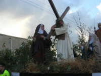 Processione della Via Crucis con gruppi statuari viventi - 5 aprile 2009   - Buseto palizzolo (1577 clic)
