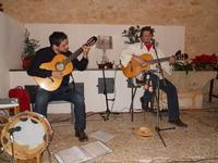 Concerto NAPOLINCANTO - Domenico De Luca (chitarra solista e percussione), Gianni Aversano (voce e chitarra) - 10 dicembre 2009   - Alcamo (1637 clic)