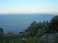 la tonnara e panorama del Golfo di Castellammare - 8 maggio 2007  - Scopello (1006 clic)