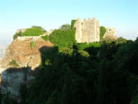 Castello normanno (tempio di Venere)- 14 luglio 2005  - Erice (1401 clic)