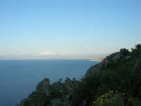 panorama del Golfo di Castellammare - 8 maggio 2007  - Scopello (1212 clic)