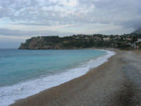 Baia di Guidaloca - il mare d'inverno - 11 gennaio 2009   - Castellammare del golfo (1849 clic)