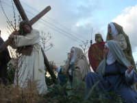 Processione della Via Crucis con gruppi statuari viventi - 5 aprile 2009   - Buseto palizzolo (1742 clic)
