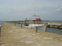 Riserva delle Isole dello Stagnone: imbarcadero per l'isola di Mozia - 24 settembre 2007  - Marsala (1363 clic)