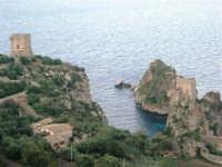 torri di avvistamento e faraglioni - 8 maggio 2007  - Scopello (1036 clic)
