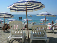 Villaggio Turistico Capo Calavà: la spiaggia - 23 luglio 2006  - Gioiosa marea (2256 clic)
