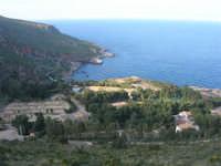 panorama e villaggio turistico - 24 febbraio 2008   - Calampiso (1960 clic)