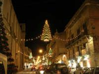 illuminazione natalizia nel corso VI Aprile - 17 dicembre 2008  - Alcamo (1055 clic)