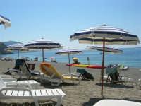 Villaggio Turistico Capo Calavà: la spiaggia - 23 luglio 2006  - Gioiosa marea (2006 clic)