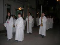 Venerdì Santo: processione del Cristo Morto e dell'Addolorata - via Galileo Galilei - 21 marzo 2008   - Alcamo (686 clic)