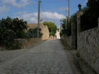 Strada d'accesso lato nord - 23 agosto 2005  - Scopello (1402 clic)