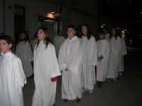 Venerdì Santo: processione del Cristo Morto e dell'Addolorata - via Galileo Galilei - 21 marzo 2008   - Alcamo (919 clic)
