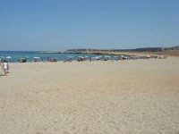Golfo del Cofano - spiaggia e mare - 8 agosto 2008   - San vito lo capo (513 clic)