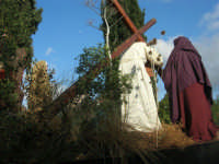 Processione della Via Crucis con gruppi statuari viventi - 5 aprile 2009   - Buseto palizzolo (1631 clic)