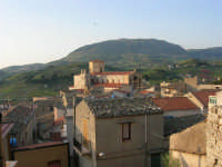 panorama e Chiesa Madre - 23 aprile 2006   - Chiusa sclafani (1299 clic)