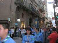 Processione in onore di Maria Santissima dei Miracoli, patrona di Alcamo - Corso VI Aprile - 21 giugno 2009   - Alcamo (2426 clic)