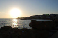 al tramonto - 6 aprile 2008  - Marinella di selinunte (832 clic)