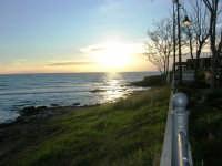 al tramonto - 4 gennaio 2007  - Torretta granitola (1220 clic)