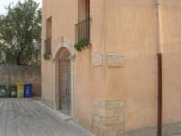 angolo piazza Alicia e via Garibaldi - 11 ottobre 2007  - Salemi (2665 clic)
