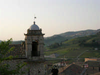 panorama e campanile della Badia (sconsacrata) - 23 aprile 2006   - Chiusa sclafani (1000 clic)